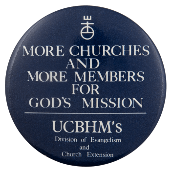 UCBHM Mission Advertising Busy Beaver Button Museum