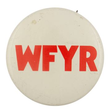 WFYR Advertising Busy Beaver Button Museum