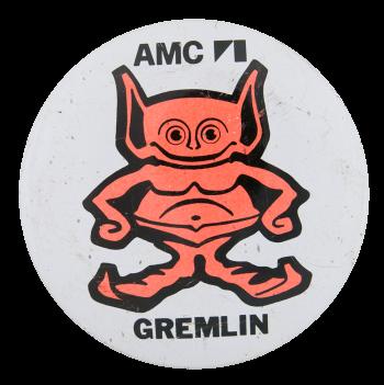 AMC Gremlin Advertising Button Museum