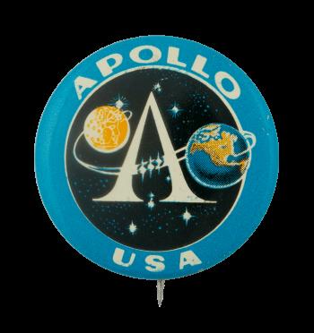 Apollo USA Advertising Busy Beaver Button Museum