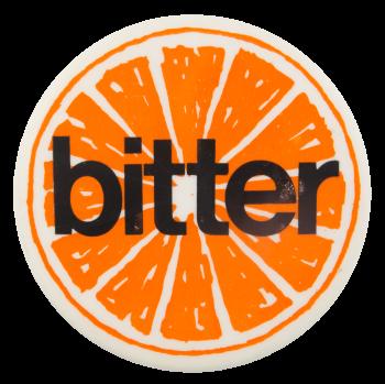 Bitter Advertising Button Museum