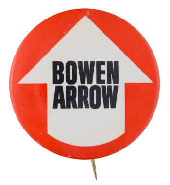 Bowen Arrow Political Button Museum