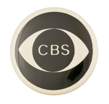 CBS Eye Advertising Button Museum