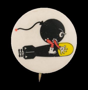 Coca-Cola Torpedo Squadron Advertising Button Museum