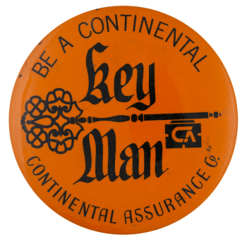 Continental Assurance Advertising Busy Beaver Button Museum