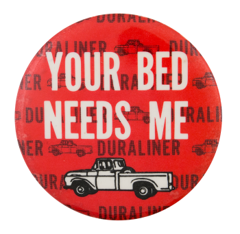 Duraliner Advertising Button Museum