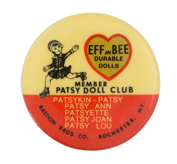 Member Patsy Doll Club Club Button Museum