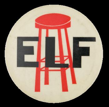 Elf Advertising Button Museum