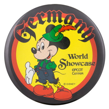 Epcot Center World Showcase Germany Entertainment Button Museum