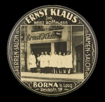 Ernst Klause Advertising Button Museum