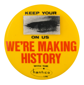 Hantico Line Advertising Button Museum