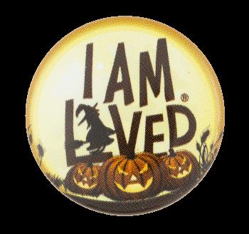 I am Loved Pumpkins Helzberg Diamonds Advertising Button Museum