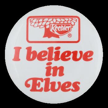 Keebler Elves Advertising Button Museum