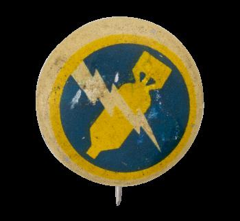 Kelllogg's Pep 370th Bombardment Squadron Advertising Button Museum