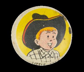 Little Joe Advertising Button Museum