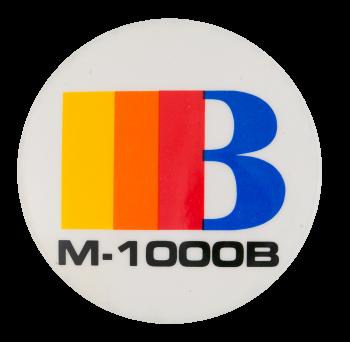 M-1000B Advertising Button Museum