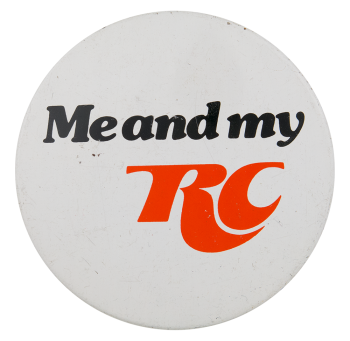 Me and My RC Advertising Button Museum