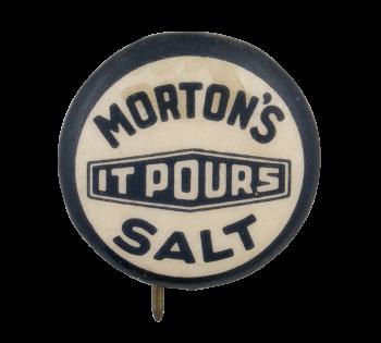 Morton's Salt Advertising Button Museum