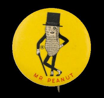 Mr. Peanut Advertising Button Museum