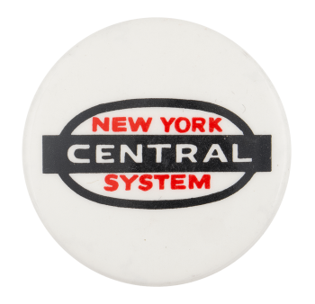New York Central System Advertising Busy Beaver Button Museum