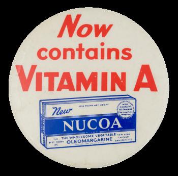Nucoa Advertising Button Museum