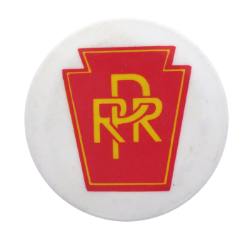 Pennsylvania Railroad Advertising Button Museum