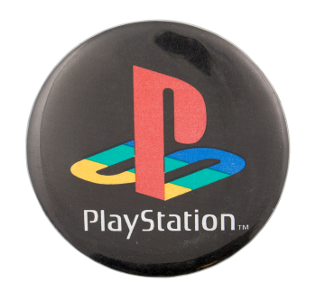 PlayStation Advertising Button Museum