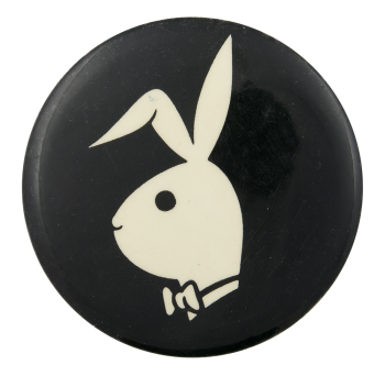 Playboy Bunny Advertising Button Museum