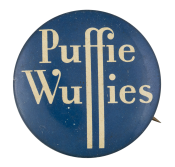 Puffie Wuffies Advertising Button Museum