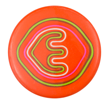 Schweber Electronics Orange Advertising Button Museum