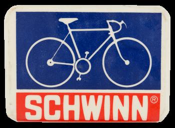 Schwinn Bike Advertising Button Museum