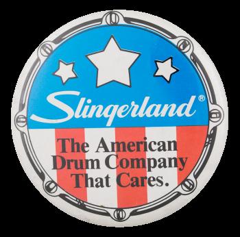Slingerland Drums Advertising Button Museum