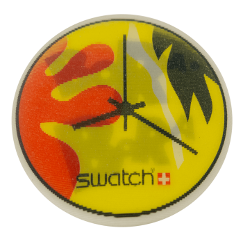 Swatch Bora Bora Advertising Busy Beaver Button Museum