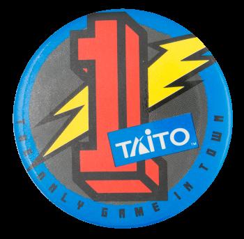 Taito Advertising Button Museum