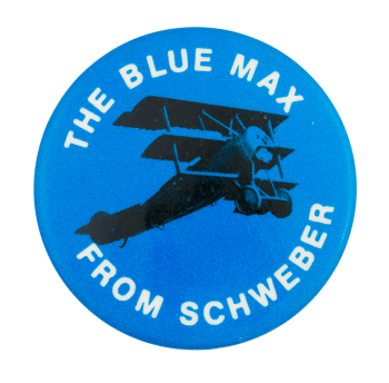 The Blue Max Advertising Button Museum