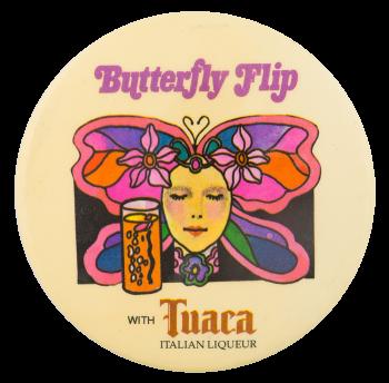 Tuaca Italian Liqueur Advertising Button Museum