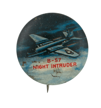 XF4D Skyray Advertising Busy Beaver Button Museum
