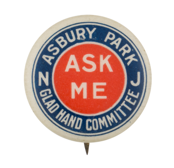 Asbury Park Ask Me Ask Me Button Museum