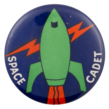 Space Cadet Art Busy Beaver Button Museum