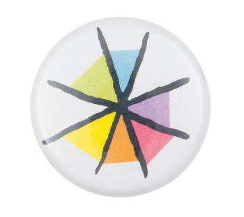 Asterisk Colors Art Button Museum