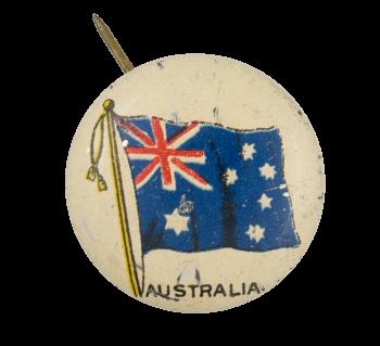Australia Flag Art Button Museum