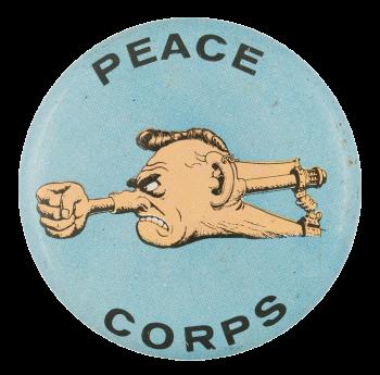 Basil Wolverton Peace Corps Art Button Museum