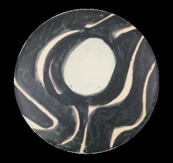 Black Waves Art Button Museum