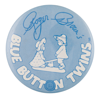 Blue Button Twins Art Button Museum