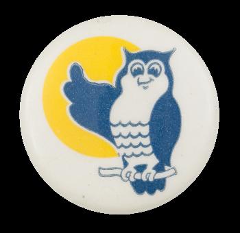 Blue Owl Art Button Museum