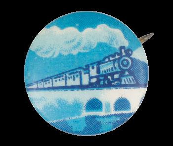 Blue Train Art Button Museum