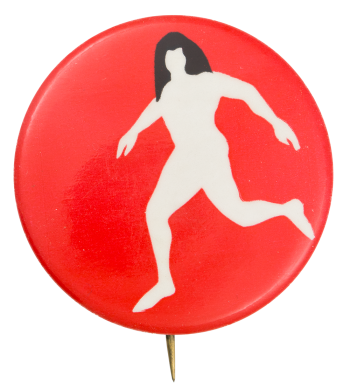 Body on Red Art Button Museum