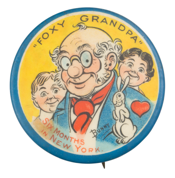 Foxy Grandpa Art Button Museum