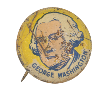 George Washington Art Button  Museum