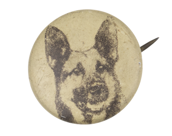 German Shepherd Art Button Museum